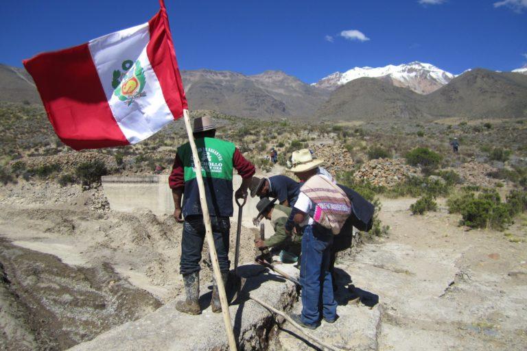 En en Valle del Colca, las comisiones de regantes son la entidad más importante para las comunidades. Foto: Archivo personal.