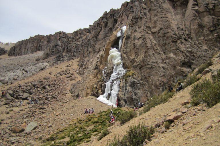 El nacimiento del agua en las cuencas altas del Valle del Colca. Foto: Archivo personal.