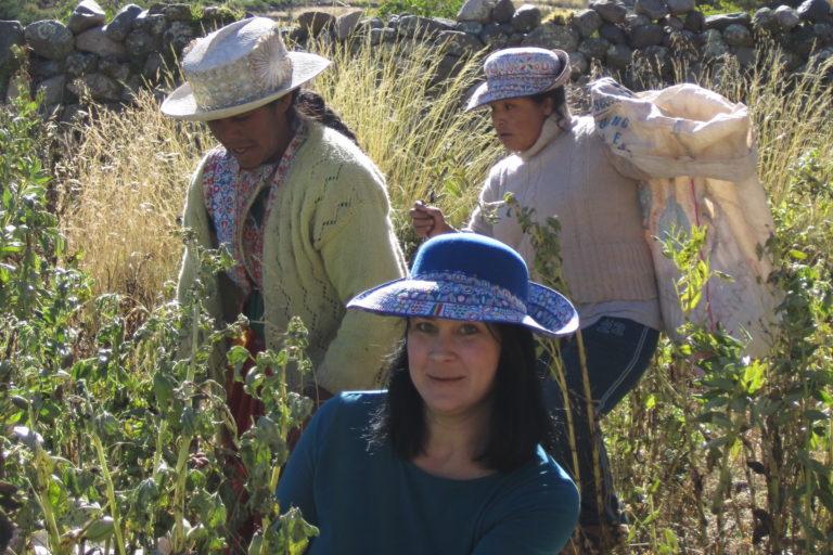 La antropóloga ambiental ha investigado el tema del agua en el Valle del Colca. Foto: Archivo personal.
