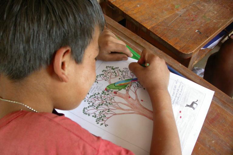 El turismo y la educación ambiental forman parte de la propuesta en Omereque. Foto: Asociación Civil Armonía.