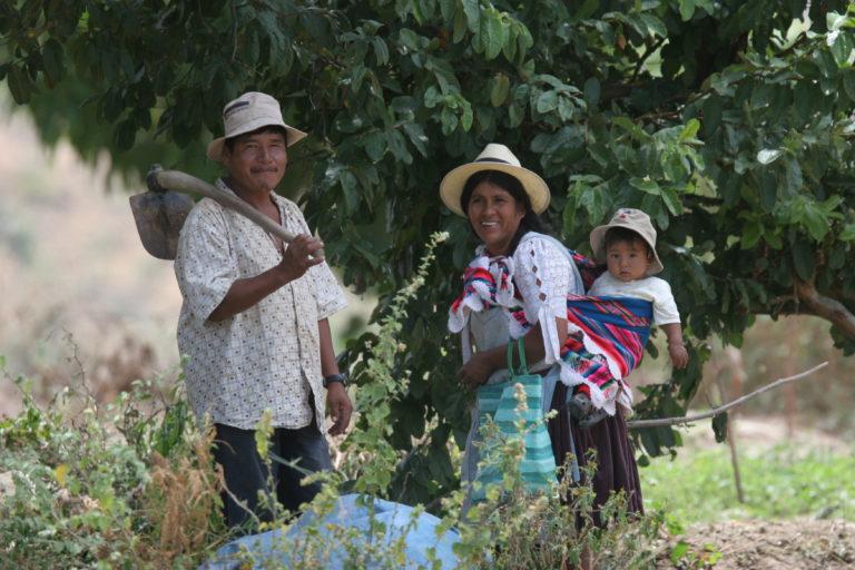 Las comunidades San Carlos, Amaya y Perereta, en Omereque, Cochabamba, participan del proyecto de la Reserva Natural Comunitaria Paraba Frente Roja. Foto: Asociación Civil Armonía.