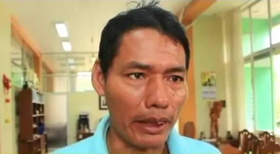 Julio Crisanto López era vigilante en el Bosque Macuya. Foto: Facebook Facultad Ingeniería Forestal.