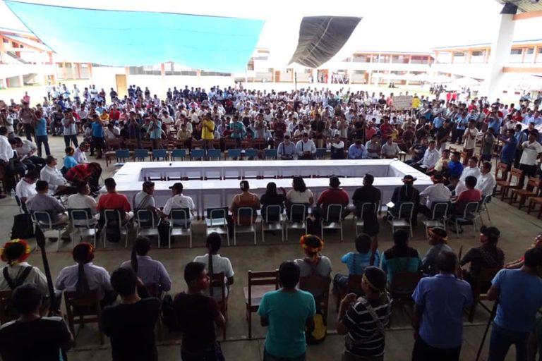 Representantes de 54 federaciones indígenas se reunieron en San Lorenzo. Foto: Orpio.