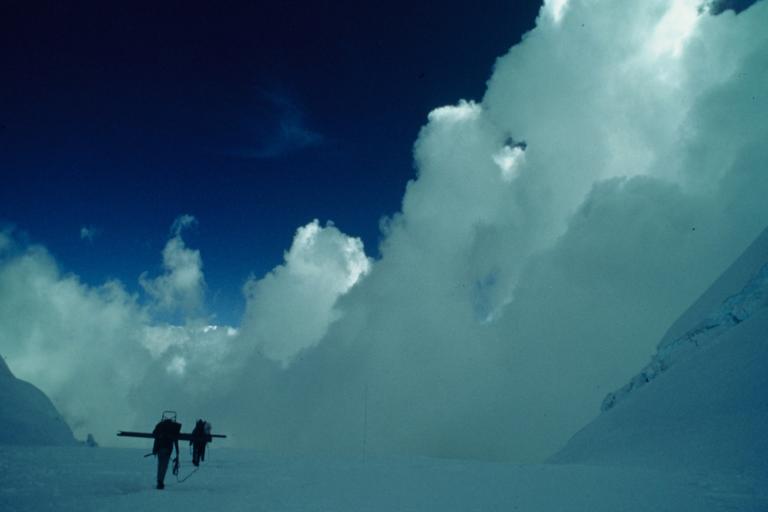 Lonnie Thompson ha realizado 64 expediciones en diez países alrededor del mundo. Foto: Lonnie Thompson.