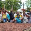 Productores de cacao en Tumaco, Nariño, Colombia. Foto:Fedecacao.