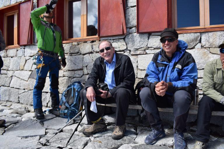 Thompson y el equipo de investigadores camino a la expedición al Huascarán. Foto: Irina Neglia.