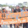 Indígenas Kichwa aseguran que fueron invisibilizados por el juez que negó su acción de protección. Foto: Edmundo Garuka.