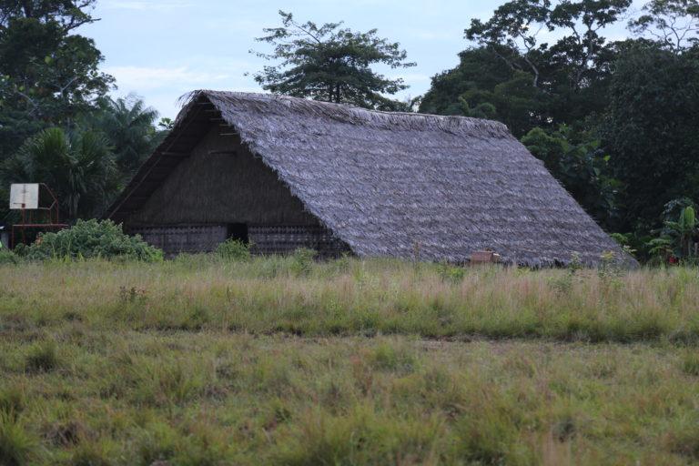 Apaporis Colombia. Maloka en la comunidad indígena de Buenos Aires en el departamento de Vaupés. Foto: Instituto SINCHI.