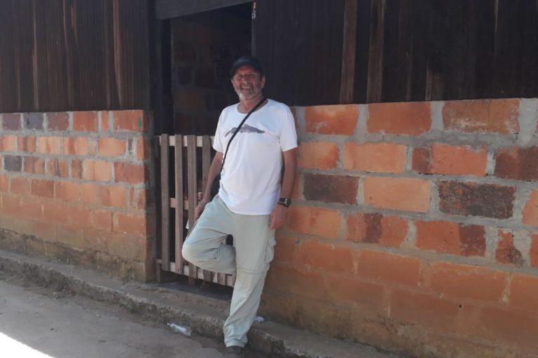 Peces de agua dulce en Colombia. El bagre rayado del Magdalena, una especie endémica de Colombia y en categoría En Peligro de extinción es uno de los peces en los que se centran los estudios de Valderrama. Foto: Mauricio Valderrama.
