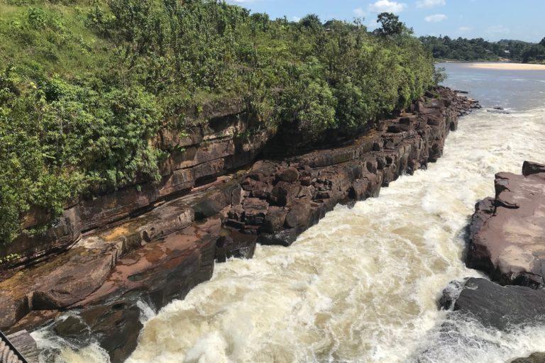 Territorios indígenas de conservación. La Chorrera es un lugar con grandes recursos hídricos. Foto: Luisa Fernanda Ortiz - WWF Colombia.