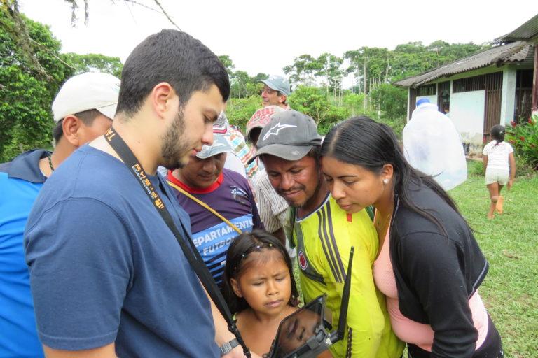 Día de los Pueblos Indígenas Los drones han permitido a las comunidades nativas hacer un mejor uso de su territorio. Foto: Amazon Conservation Team.