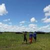 Indígenas guayaberos Meta. En verano los indígenas Jiw deben caminar más de 45 minutos para acceder al agua. Foto: María Fernanda Lizcano.