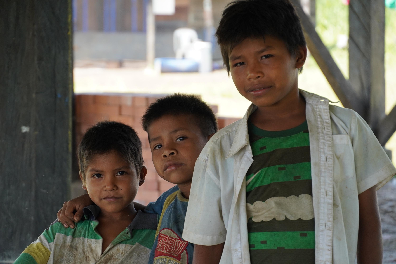 Indígenas guayaberos Meta. Poco a poco los niños van perdiendo el sentido de pertenencia por su cultura. Foto: María Fernanda Lizcano.