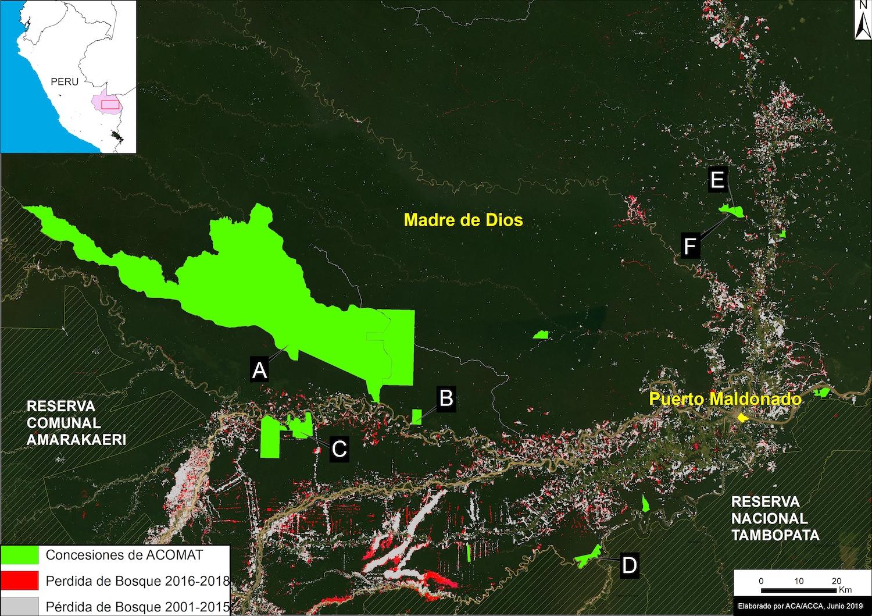 drones tala minería perú