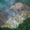 Deforestación parque Tinigua. Las quemas en la Amazonía colombiana suelen darse entre enero y febrero. Foto: Fundación para la Conservación y el Desarrollo Sostenible (FCDS).