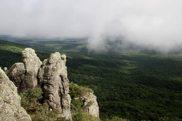 Roberto Vides-Almonacid Serranía y valle en el área protegida de Tucabaca. Foto: Hermes Justiniano.