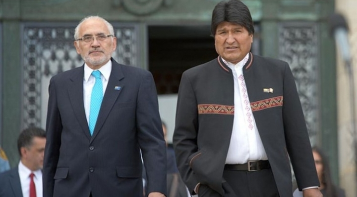 Según las dos últimas encuestas, Evo Morales lidera la intención de voto seguido por Carlos Mesa, sin embargo, ambos sondeos presentan cifras muy diferentes para el primer lugar.
