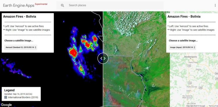 El aplicativo fue creado por Conservación Amazónica. Foto: MAAP ( ACCA.