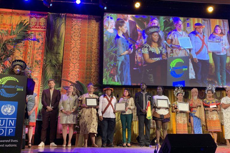 Un total de 22 iniciativas de comunidades indígenas a nivel mundial recibieron el Premio Ecuatorial. Foto: Kemito Ene.