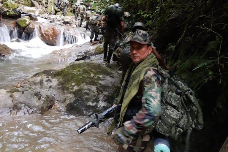 Policías y militares ingresaron a la Cordillera del Cóndor. Foto: Dirección de Medio Ambiente / PNP.
