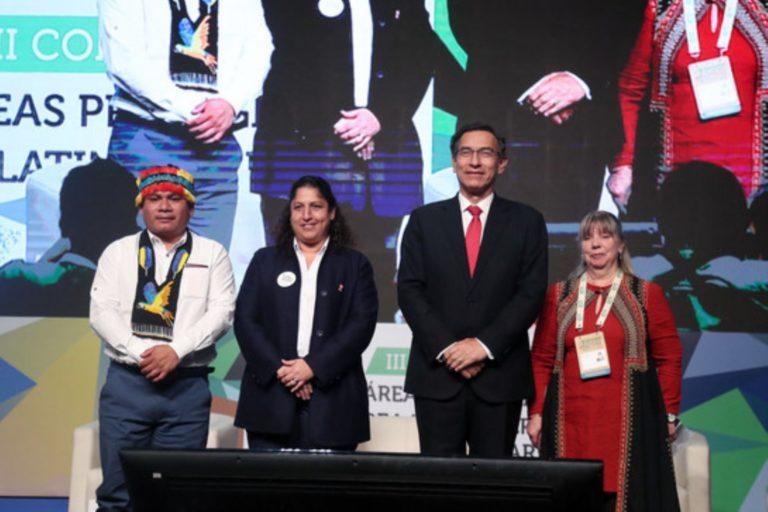 El III Congreso de Áreas Naturales Protegidas de América Latina y El Caribe se realizó en Lima, Perú, del 14 al 17 de octubre. Foto: Agencia Andina.