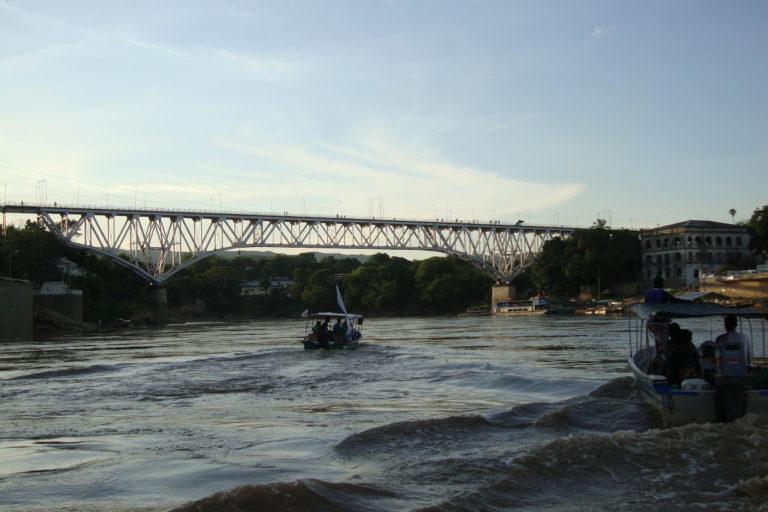 El río Magdalena atraviesa once departamentos de Colombia. Foto: CorMagdalena.
