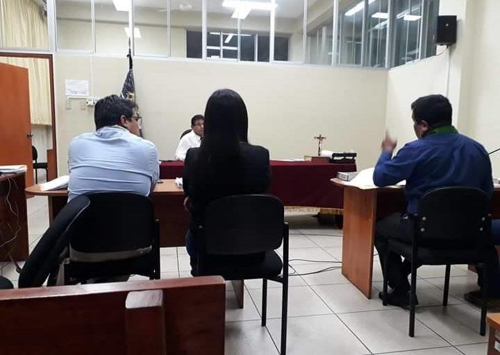 La audiencia para el pedido de prisión preventiva se realizó el miércoles 20 de noviembre. Foto: FEMA Loreto.