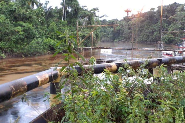 Perú derrame de petróleo en la Amazonía