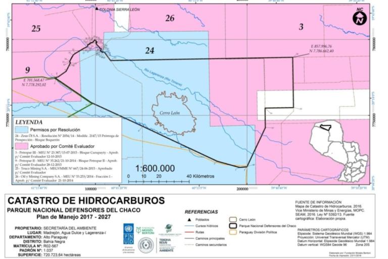 hidrocarburos en el Chaco