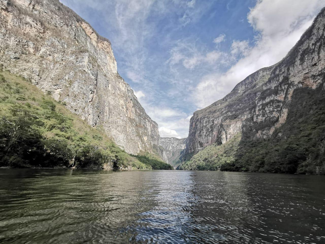 Río Grijalva-Cañón del Sumidero, México