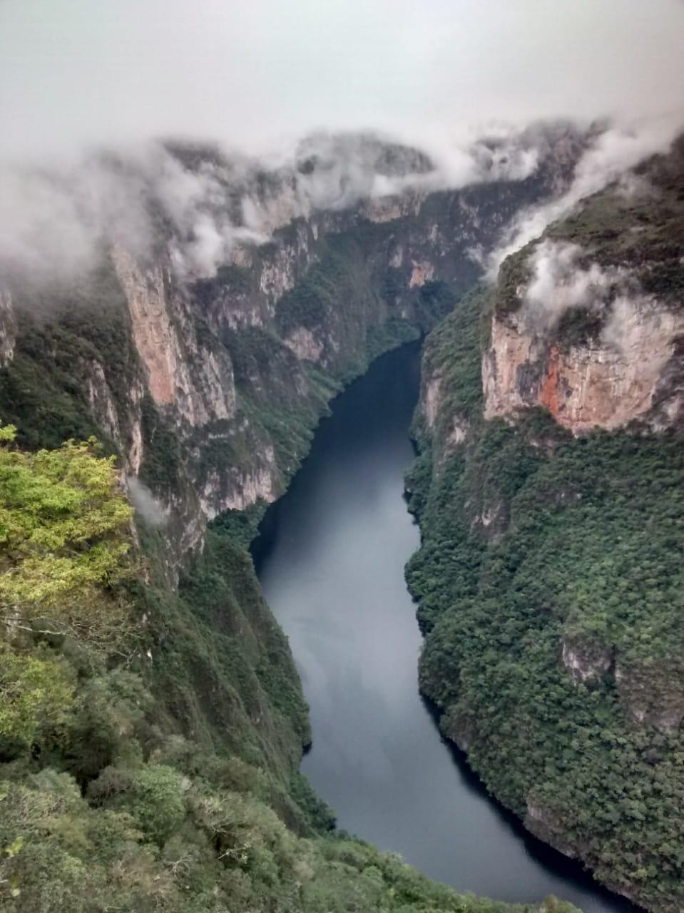 Parque Nacional Cañón del Sumidero-Chiapas