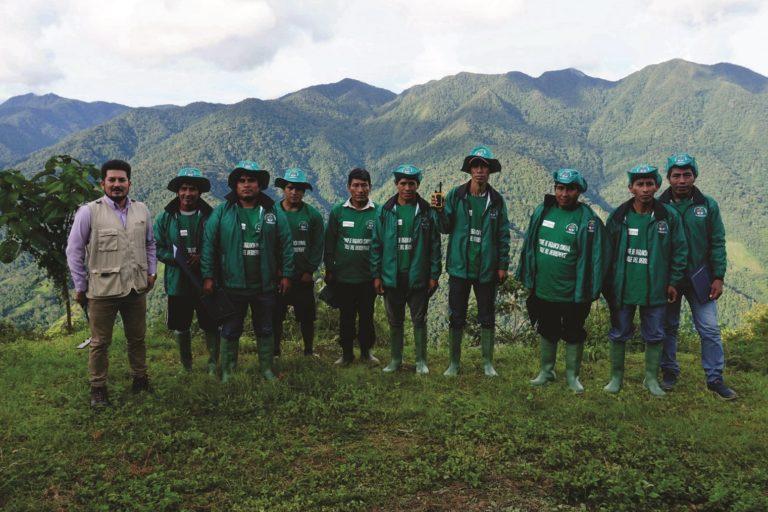 La nueva ACR Bosque Montano de Carpish cuenta con un comité de protección formado por los pobladores de la zona. Foto: NCI.