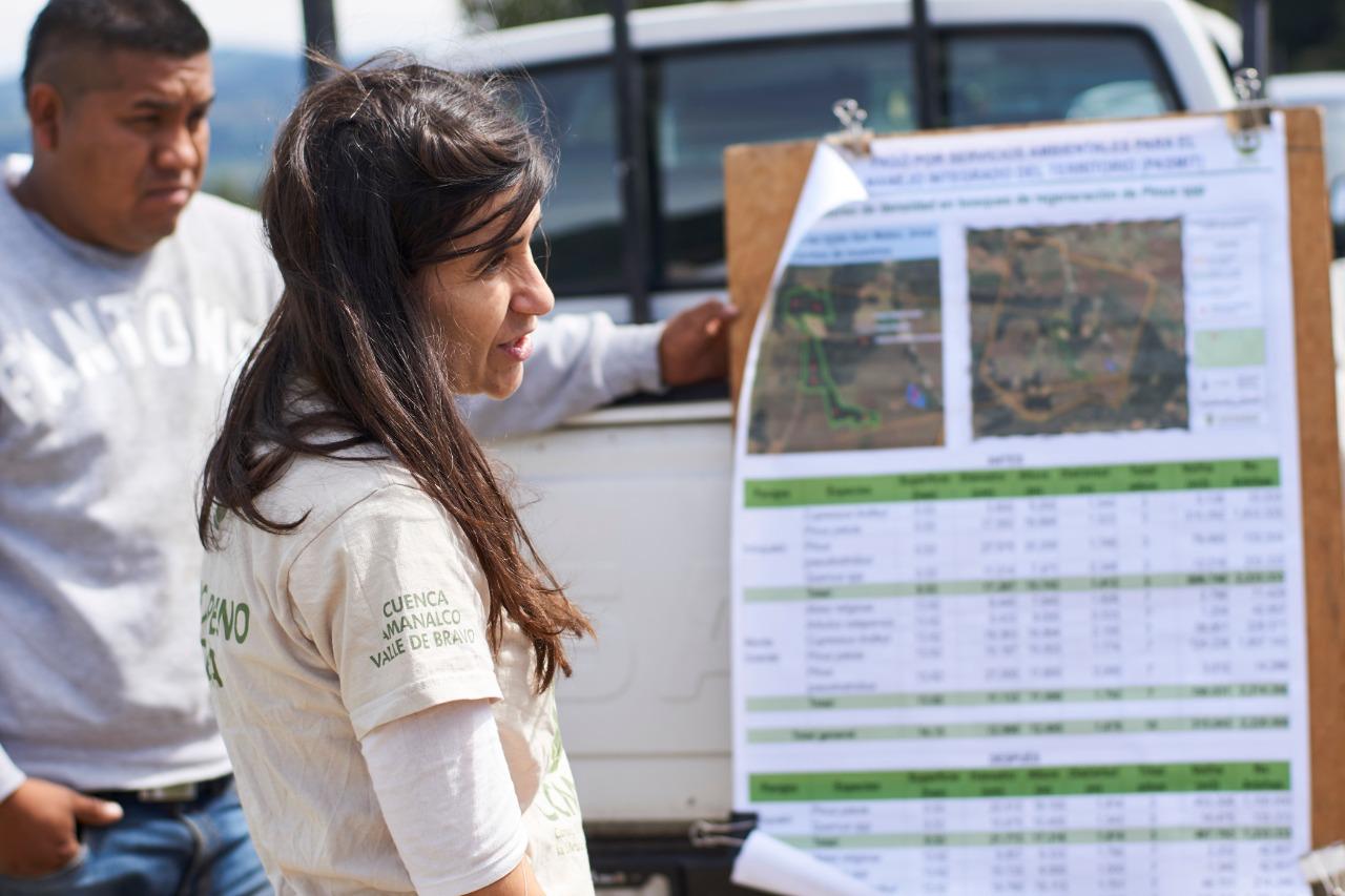 Lucía Madrid-Manejo Forestal Comunitario-México