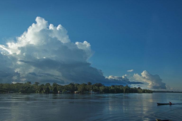 El río Yaguas alberga más especies de agua dulce que ningún otro lugar del Perú. Foto: Field Museum de Chicago.