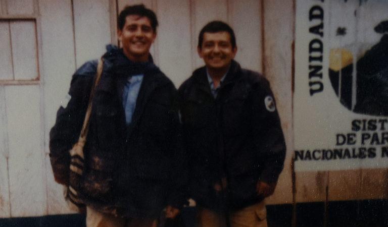 José Martín Duarte Acero fue un guardaparque asesinado en 2008 en una cabaña de Parques Nacionales en Sierra de La Macarena. Foto: cortesía familia Duarte Acero.