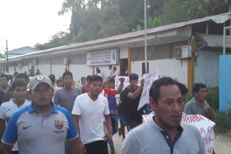Cordillera del Cóndor Los pueblos awajún y wampis han anunciado que continuarán con las protestas hasta que se atiendan todos sus reclamos. Foto: Odecofroc.