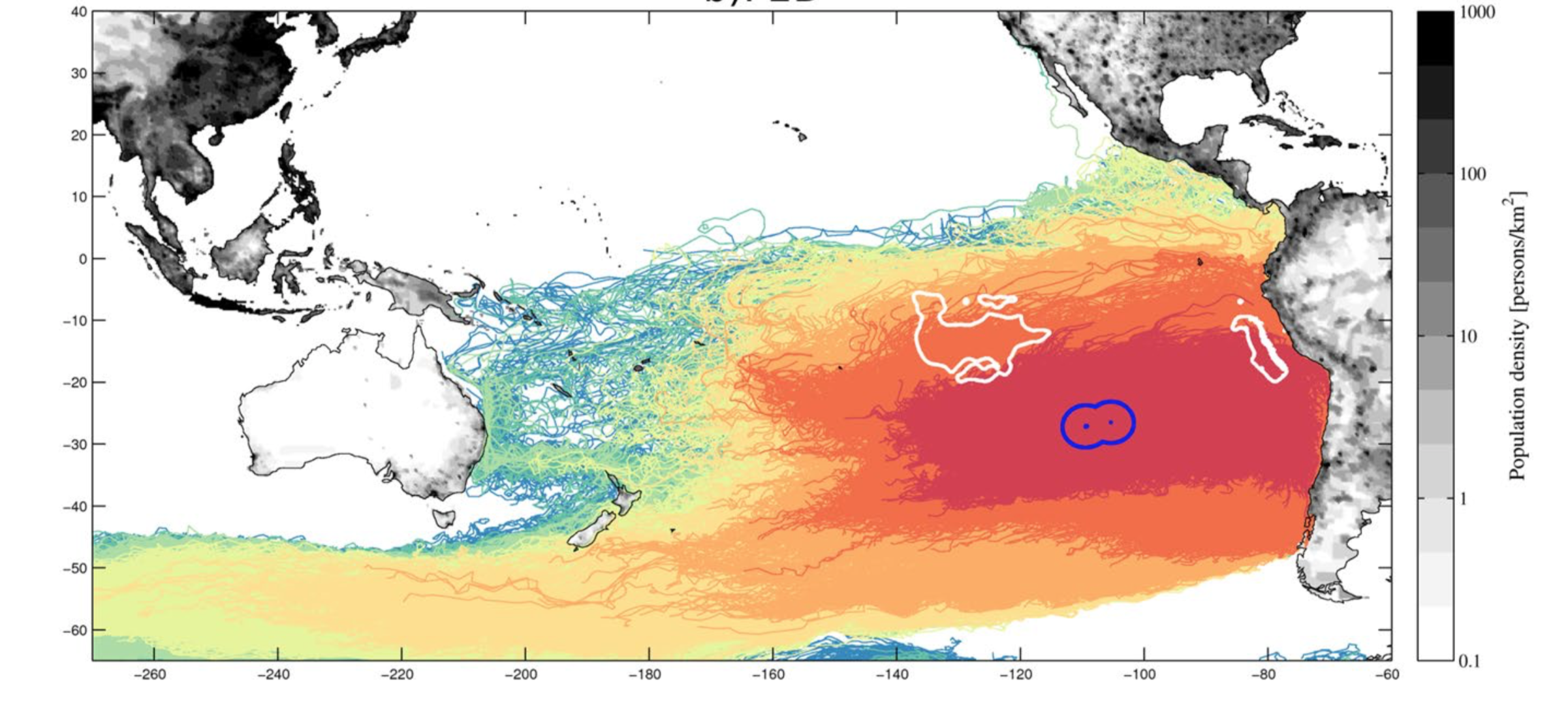 basura marina en Isla de Pascua