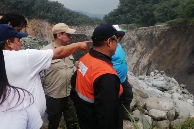 Cascada San Rafael. El acceso al sendero de la cascada San Rafael en el Parque Cayambe Coca se encuentra suspendido. Foto: MAE Sucumbíos.