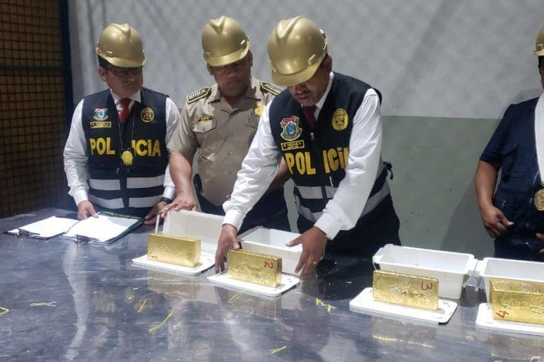 Las actividades ilegales se interrelacionan entre sí, explica la experta. Foto: Policía de Medio Ambiente PNP.