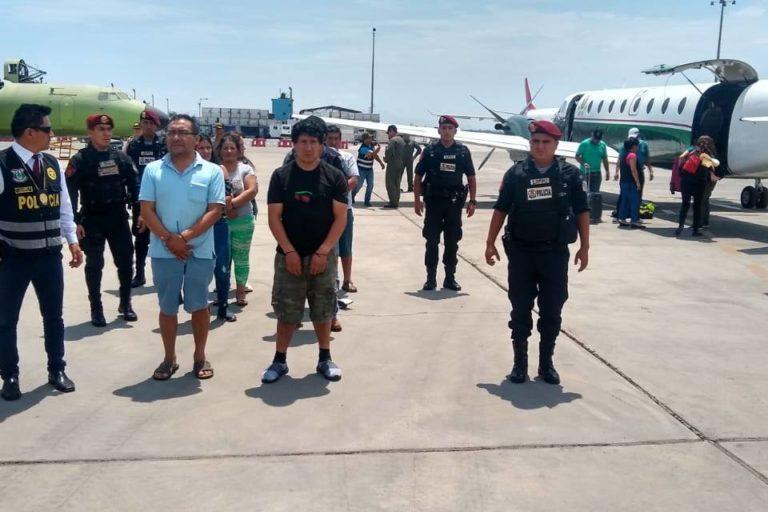 La Fiscalía solicita 9 meses de prisión preventiva para los 18 detenidos en el megaoperativo. Foto: PNP Medio Ambiente.