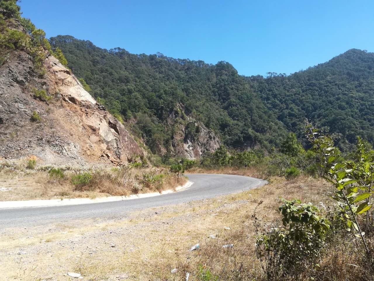 Carretera en Talpa-Jalisco