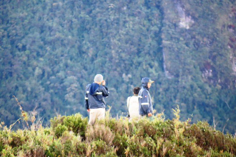 Expedición en el Santuario Nacional Cordillera de Colán en el año 2012. Foto: Fernando Angulo.