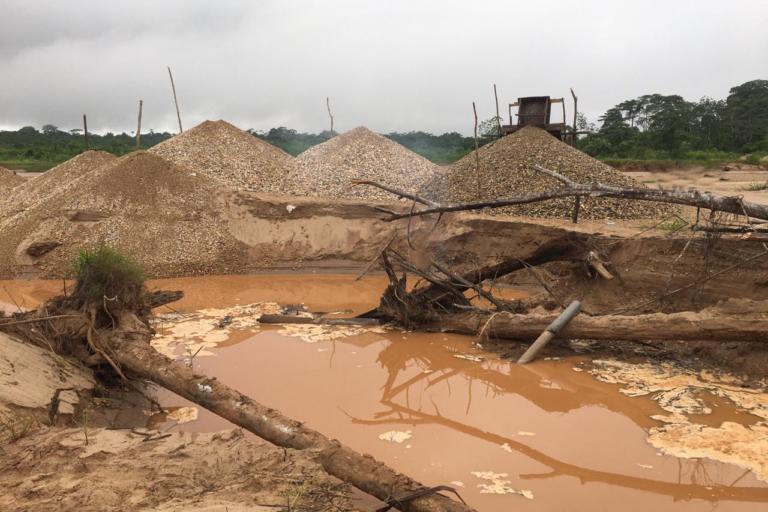 El precio del oro ha aumentado la demanda del mineral. Foto: Vanessa Romo.