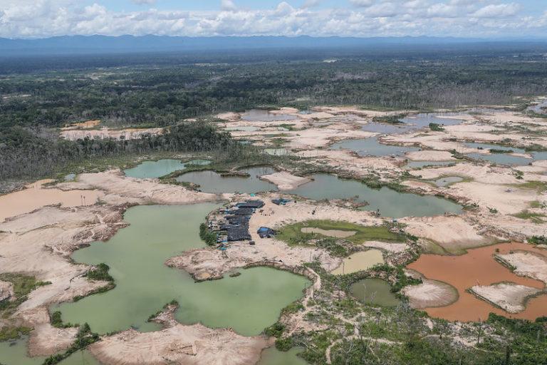 minería ilegal en Tambopata