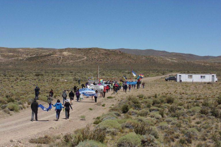 Caravana al PAS en Chubut Argentina. Foto: Maira Zerpa.