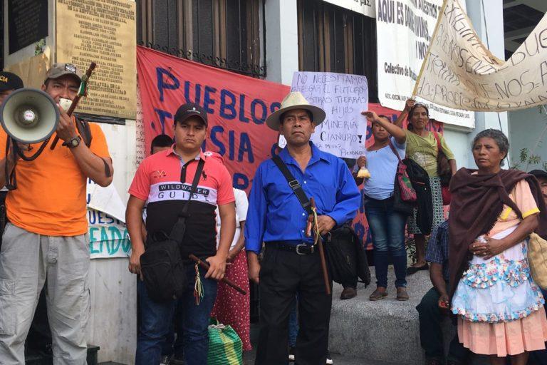 La Corte Suprema falló a favor de suspender las operaciones en la mina Escobal. Foto: Earth Works.