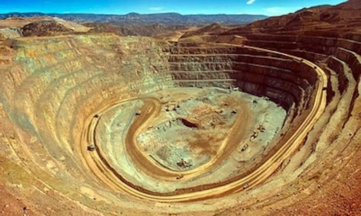 Instalaciones de la minera Dolores. Foto: Radiohit.