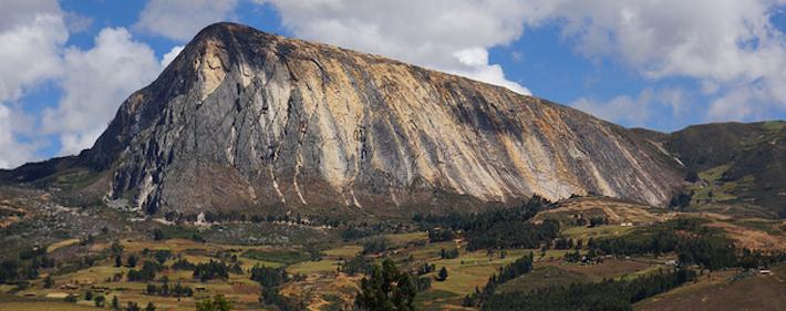 Cerro Algamarca donde se instala la minera Shahuindo. Foto: EJAtlas.