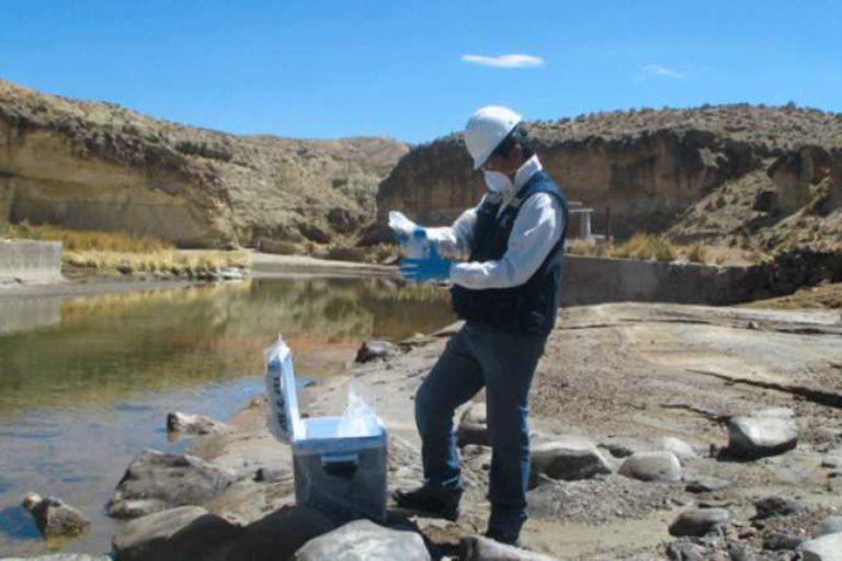 Se ha evaluado la contaminación del río Moche por la minera Quiruvilca. Foto: Agencia Andina.