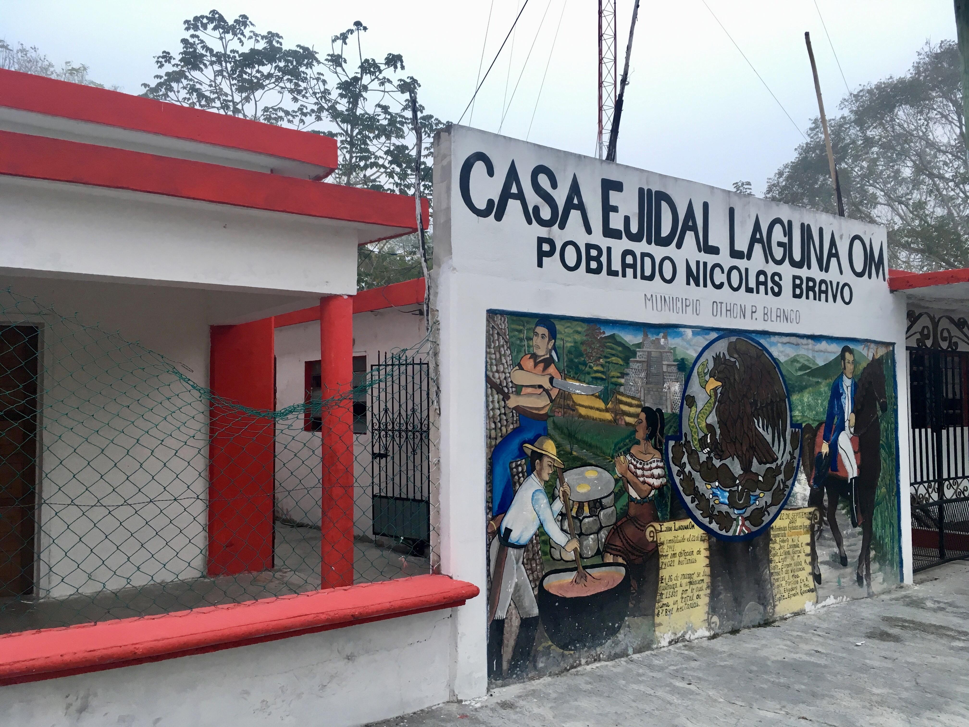 Laguna OM, en Quintana Roo, México